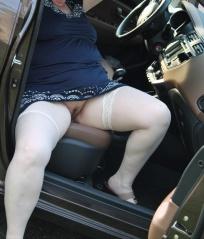 Frauen nackt im auto