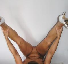 Frauen machen sport nackt