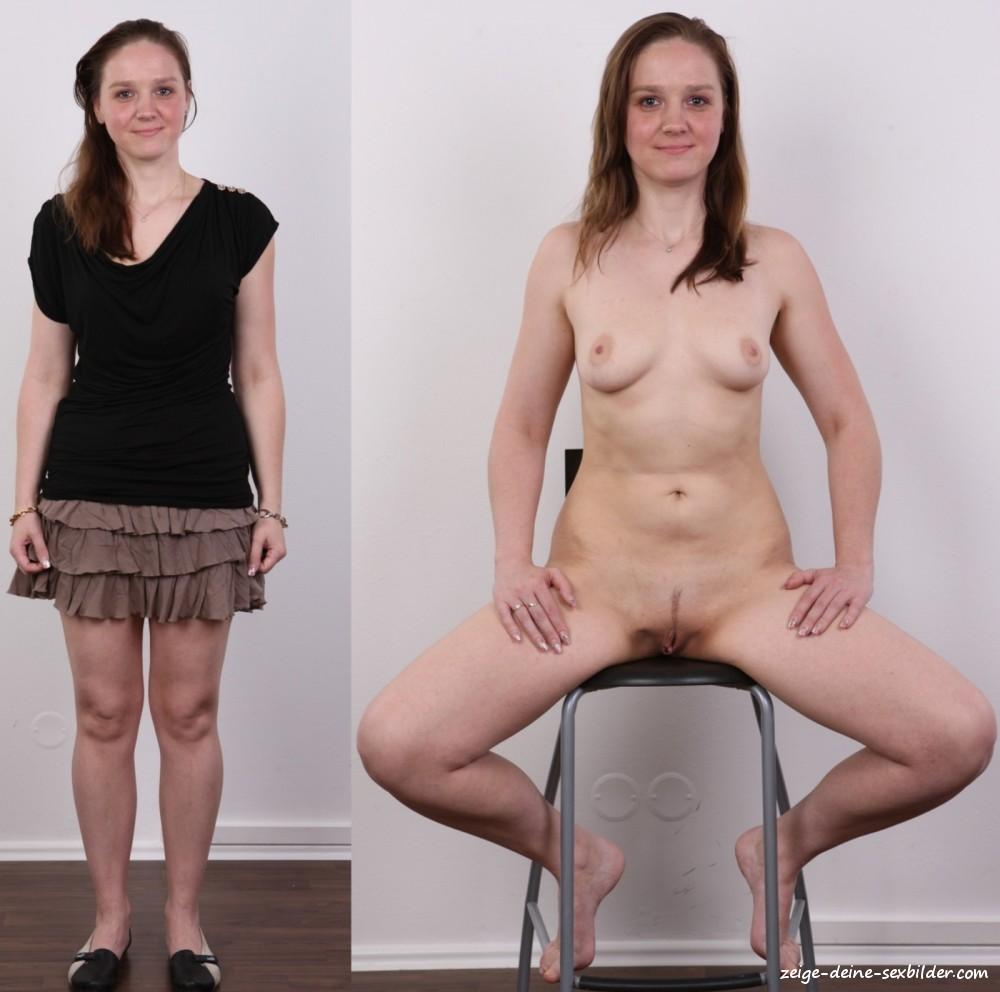 Bilder nackt und angezogen Nackt Und