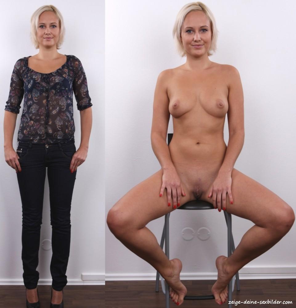 Reife Frauen Angezogen Und Nackt