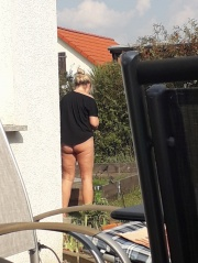 Nachbarin nackt beobachtet