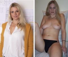 Bilder bekleidet nackt und Nackt Und
