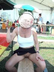 Nackt frauen öffentlich Nackt öffentlich